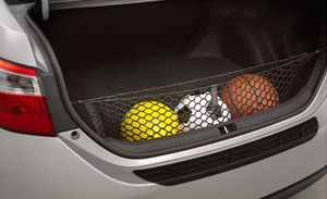 Toyota Cargo Net keeps everything secure