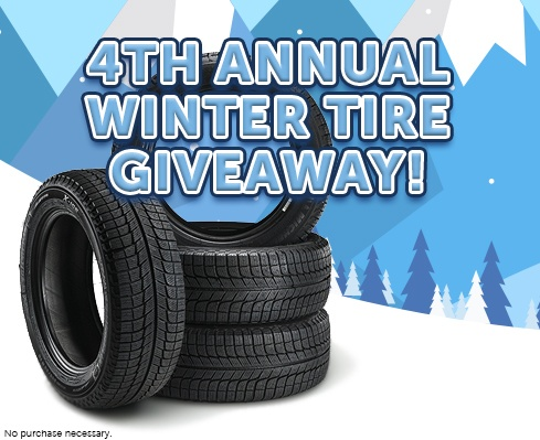 4th Annual FB Winter Tire Giveaway