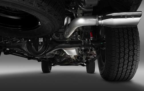 TRD Exhaust system