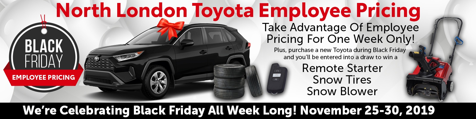 black friday employee pricing toyota