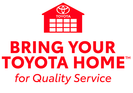 bring your toyota home logo